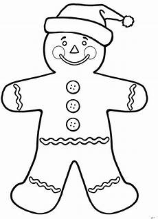 gingerbread coloring pages for enjoy coloring