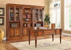 home office library furniture huntington home office writing desk 3pc library