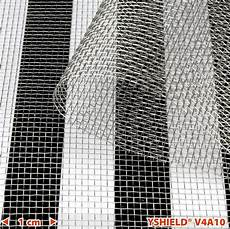 elektrosmog abschirmung test yshield 174 v4a stainless steel gauze v4a10 hf lf width