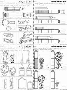 measurement subtraction worksheets 1596 worksheets for measuring length and height part of a kindergarten math matem 225 ticas para