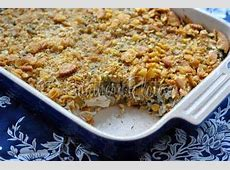 easy baked chicken and rice casserole
