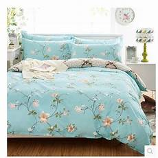 full cotton bedding including 1duvet cover 2 pillowcases 1bed sheet 4 pieces king size in