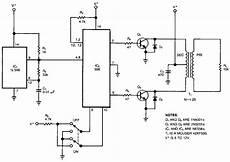 Build A High Voltage Inverter Circuit Diagram Electronic