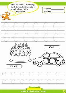 letter tracing worksheets c 23315 무료 프린트학습지 c 알파벳 따라쓰기 유아선긋기 색칠공부 다른그림찾기 등 프린트학습지 네이버 블로그