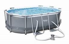 bestway oval frame pool set 300 x 200 56617