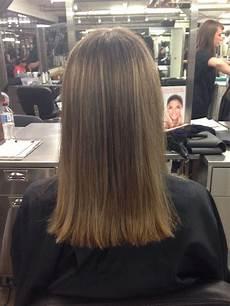 one length haircut school portfolio project one length haircut pinterest