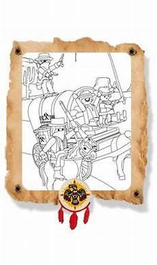 Ausmalbild Playmobil Cowboy Cowboyfeestje On Playmobil Cowboys And Cowboy