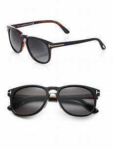 tom ford franklin sunglasses in black for lyst