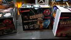 Lidl Feuerwerk Batterie Cyborg Neuheit 2018
