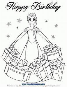 beautiful elsa gifts coloring page princess coloring