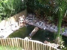 vasche d acqua le mie 4 tartarughe d acqua spiate nel laghetto a prendere