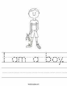sports tracing worksheets 15881 i am a boy worksheet twisty noodle with images worksheets worksheets letter tracing