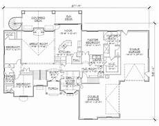 european house plans with walkout basement european house plans home design vh ts2866 rambler