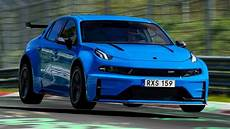 Lynk Co 03 Cyan Concept Sets Fwd And Saloon Nurburgring