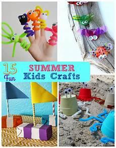 basteln sommer kinder 15 summer crafts i dig