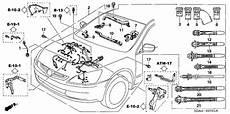 2003 honda accord engine diagram automotive parts diagram images