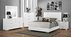 coaster felicity bedroom white 203501 bed at homelement com