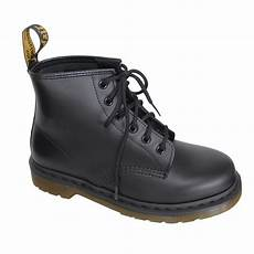 dr martens quot 101 smooth quot boot 6 loch schwarz kaufen