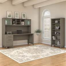bush home office furniture bush furniture somerset 72w office desk with hutch and 5