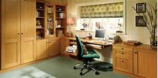 fitted home office furniture bespoke oak fitted home office with glass display shelving