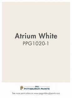 atrium white ppg1020 1 from ppg pittsburgh paints whites should only be intentional not used