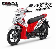 Modifikasi Beat 2014 by Inikah Penakan Honda Beat Fi Click 2014 Motoblast