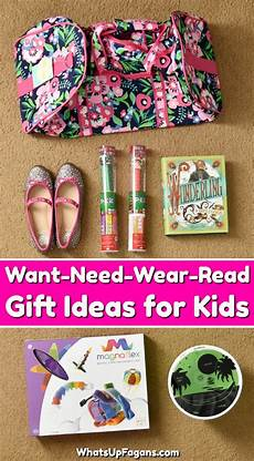 Want Need Wear Read Gift Ideas For Quot 4 Gifts For