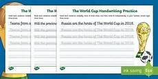 worksheets ks2 twinkl 18932 ks2 the journey to cursive the world cup handwriting practice worksheets