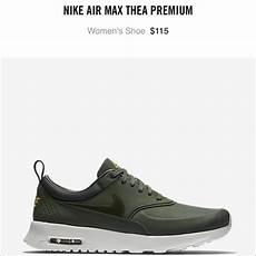 nike shoes olive green air max thea poshmark