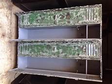 armadietti in metallo vecchio armadietto ex spogliatoio francese a 4 porte