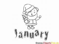 Neujahr Malvorlagen Januarie Januar Months Of The Year Coloring Pages