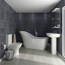 Bathroom Suites Ideas Vegas Modern Freestanding Bath Suite At Plumbing Uk
