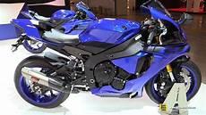 nouveauté moto yamaha 2018 2018 yamaha r1 walkaround 2017 eicma milan motorcycle exhibition