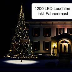 1200er weihnachtsbeleuchtung inkl fahnenmast awag
