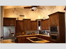 Restaining Kitchen Cabinets Lighter   YouTube
