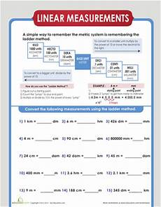 linear measurement worksheets for grade 4 1803 liquid and linear measurement printable workbook education