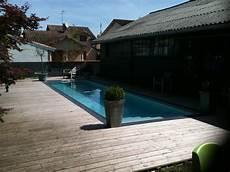 piscine couloir de nage liner couleur gris clair en 2019