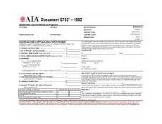 aia form aia forms g707 consent of surety to final payment form