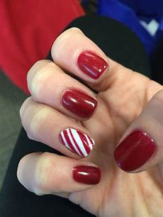 candy cane christmas nails candy cane nails nails