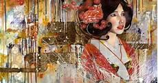 Beautiful Japanese Gold Leaf Paintings My Modern Met