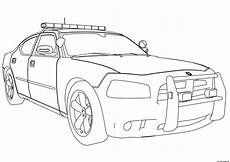 Ausmalbilder Polizei Truck Free New Car Dodge Charger Coloring Pages
