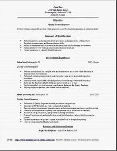 quality control resume2 resume exles resume cover letter for resume