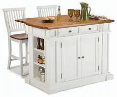 kitchen islands and carts furniture kitchen island and stools set white and distressed oak