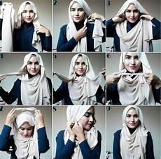10 Tutorial Pashmina Dari Zahratul Jannah Jilbab
