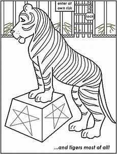Ausmalbilder Zirkus Tiger Malvorlagen Fur Kinder Ausmalbilder Zirkus Kostenlos