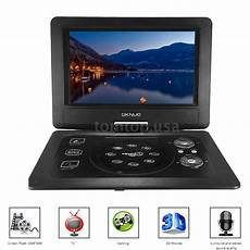 new 10 1 quot inch portable dvd player swivel widescreen usb