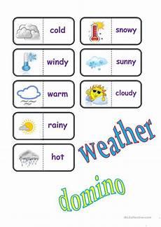 weather domino worksheets 14528 weather domino worksheet free esl printable worksheets made by teachers