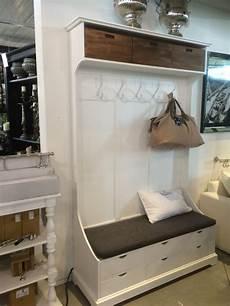 garderobe mit sitzbank garderobenschrank im landhausstil wei 223