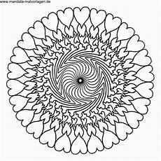 Malvorlagen Einfach Mandala Da Colorare On Line Nuovo Herz Malvorlagen Einfach