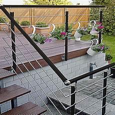 Treppengeländer Außen Verzinkt - treba frewa gel 228 nderset ag5 seitliche montage aluminium